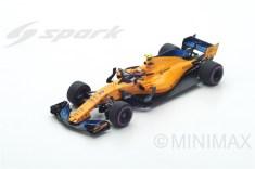 S6063 McLaren F1 Team No.2 Australian GP 2018 - McLaren MCL33 - Stoffel Vandoorne